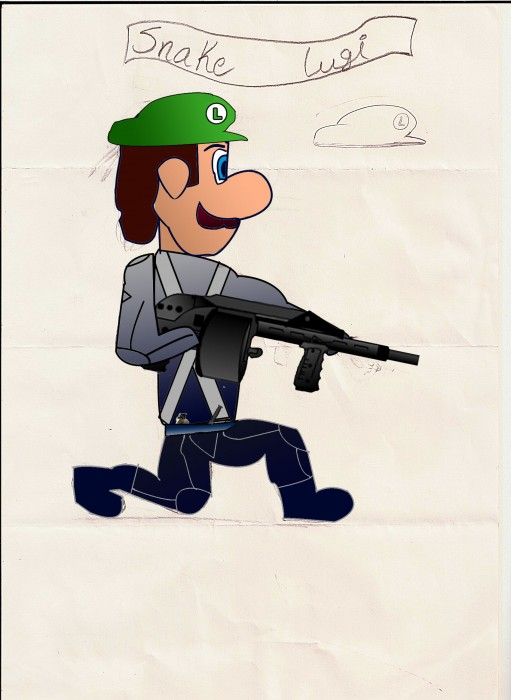 Rate my Luigi...