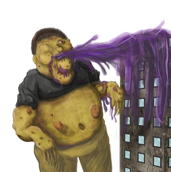 Metropolis Disaster - Art Collab