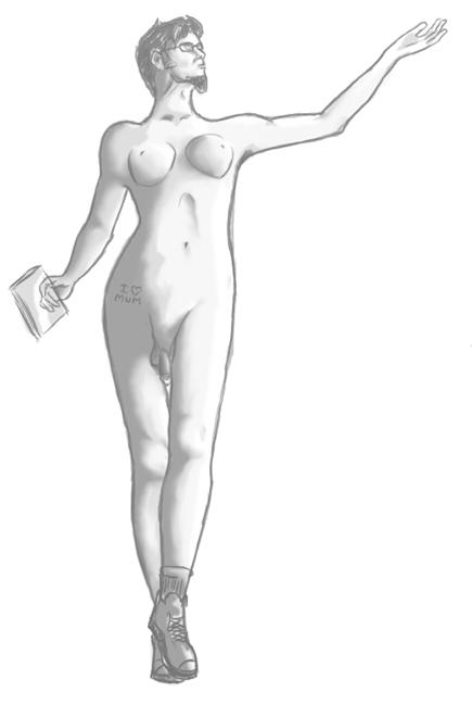 Contest: Wacom Nude Portrait Contes