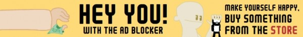 Draw a 728x90 banner for Ad Blocker