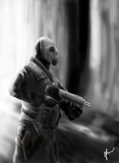 Tommy-gun's Art (need Criticism)