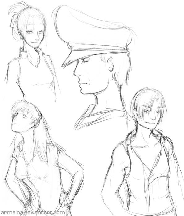 Arma's Sketchbook