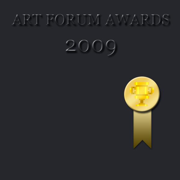 2009 Art Forum Awards [results]