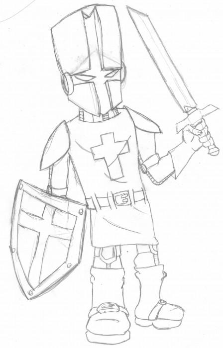 Castle Crashers Fan Art.