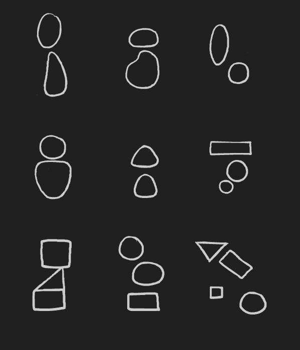 [activity] - Shapes to Cartoon