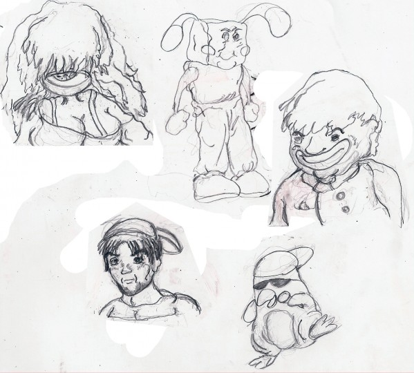 I'll draw your character- my style.