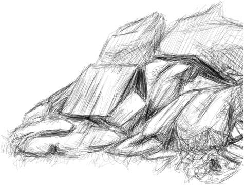 Crude digital sketches