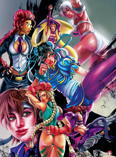 Street Fighter Women