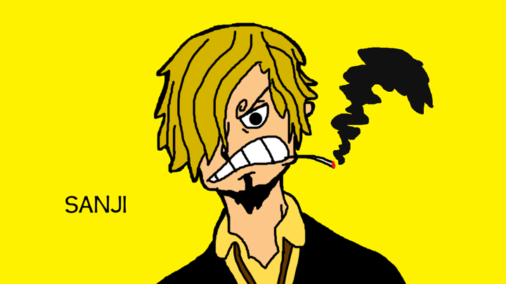 Sanji (New World) Drawing