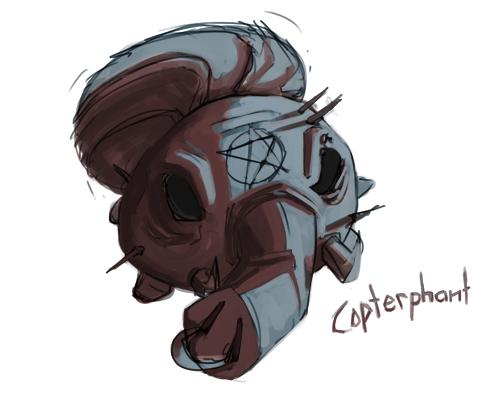 Copterphant Fan Art!