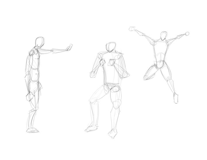 Dynamic Pose Thread