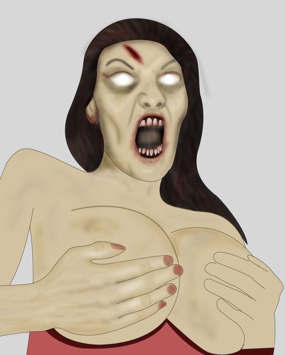 Draw a zombie contest!