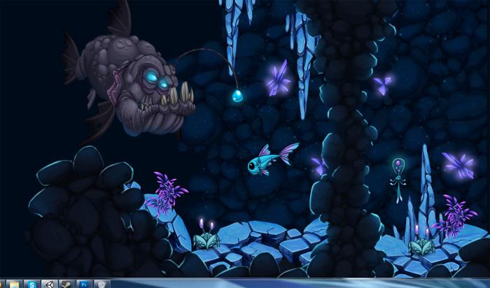 Little Titan; Creature Metroidvania
