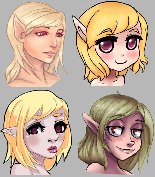Your Character, Another Style Re-do