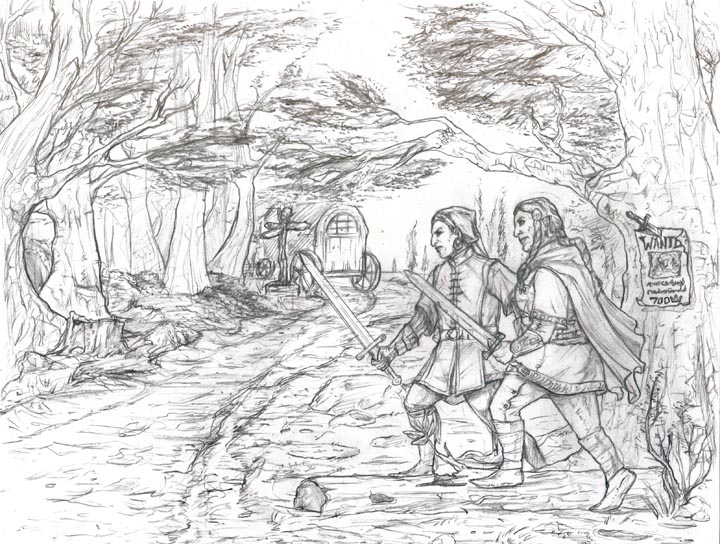 Happy Hobbit Art Thread