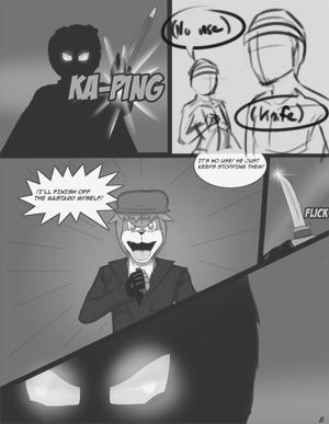 Omega dog(A short comic)