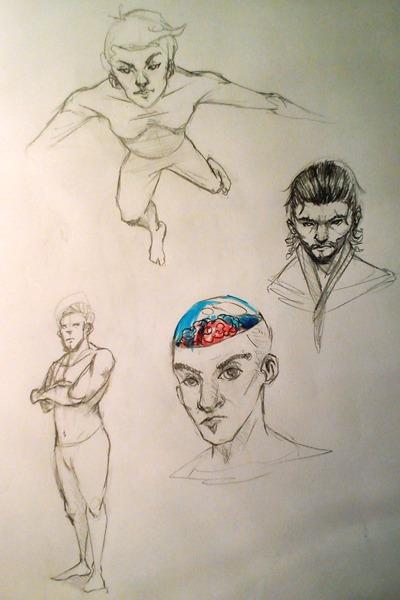 AliceN7 weekly sketchbook