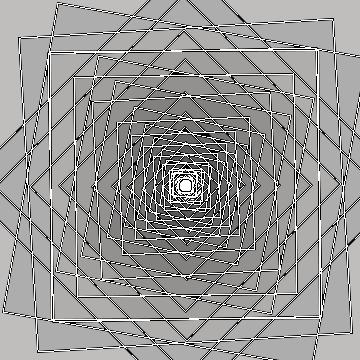 Using a single shape.