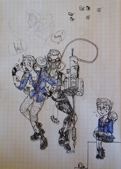 Alecs Sketchbook tour and studies