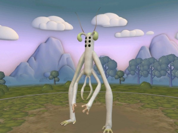 Your Spore Creatures in here.