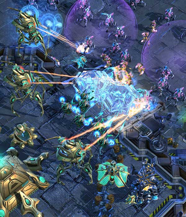Starcraft 2 : 3 different products