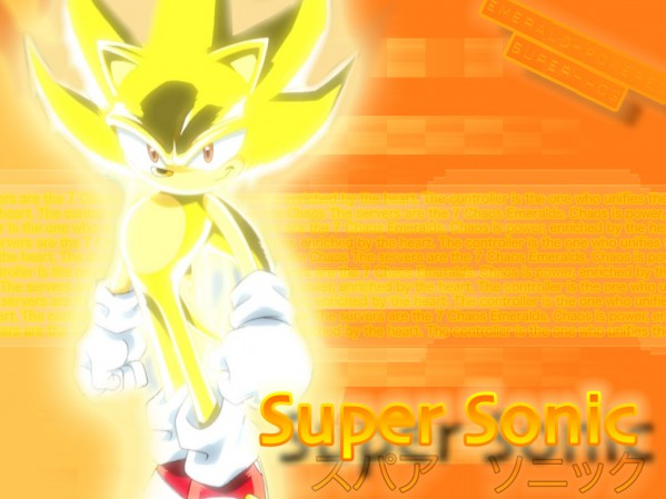 Sonic and his Chaos Emeralds