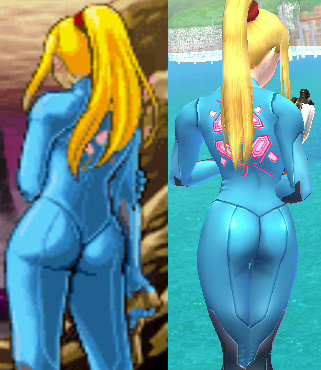 Favorite video game ass