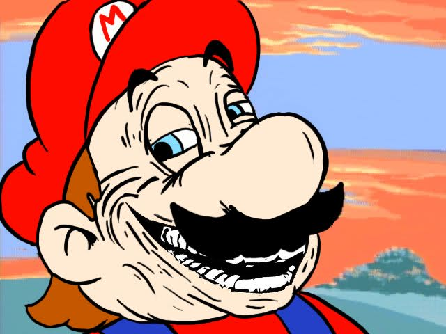 is Mario dying?