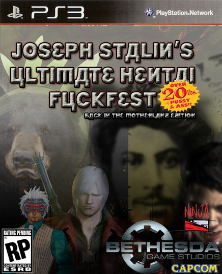 Create your own fake game cover!