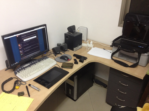 What does your Workspace look like?