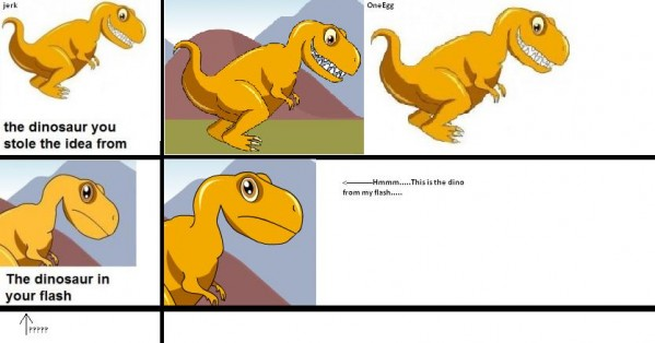 Dinosawrrs!!! (collab)