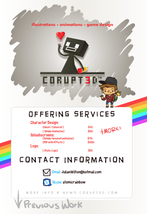 Corupted - Artist Fore Hire