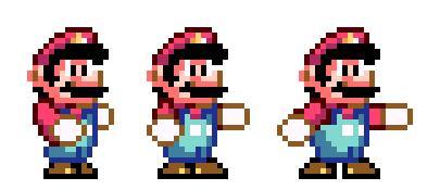 Finding Fighting Mario Sprites/help