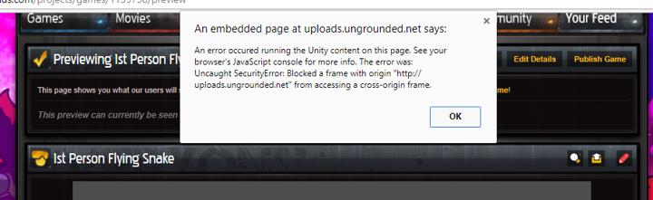 Unity3d WebGL Support