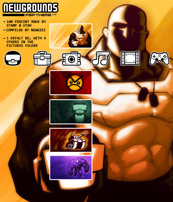 Newgrounds Playstation 3 Theme!