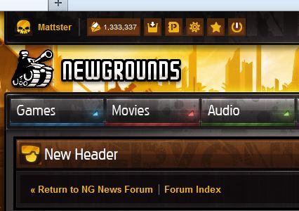New Header