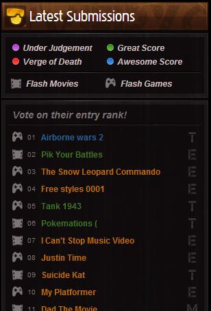 Judgment Update, Go Vote!