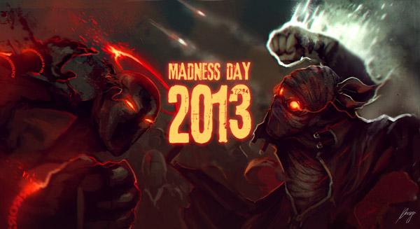 Madness Day Intro Screen