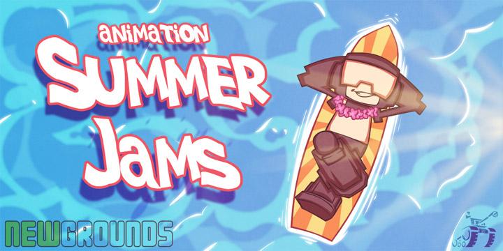 Summer Animation Jams - June 1st.