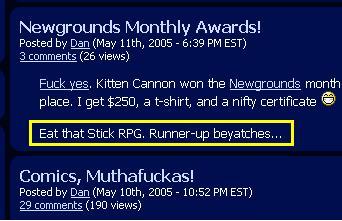 April Award Winners